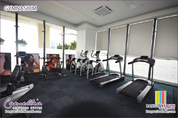 Camellia Serviced Suites Facilities Gymnasium