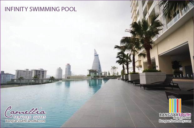 Camellia Serviced Suites Facilities Infinity Swimming Pool